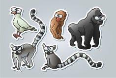 Cartoon animals Stock Photos