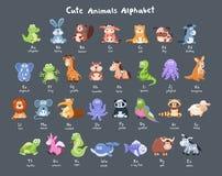 Cartoon animals collection Stock Photography
