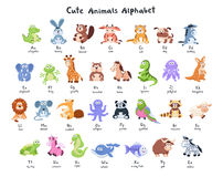 Cartoon animals collection Stock Image