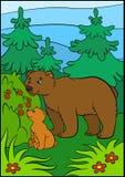 Cartoon animals for kids.  Royalty Free Stock Photos