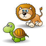 Cartoon animals set 1 Royalty Free Stock Photography