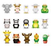 Cartoon animals set - pt.2 Royalty Free Stock Photo