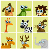 Cartoon animals vector Stock Image