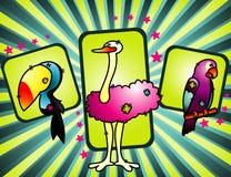 Cartoon animals vector  Royalty Free Stock Photos