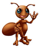 Cartoon ant mascot Stock Photo