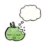Cartoon apple Royalty Free Stock Image