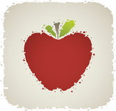 Cartoon Apple Royalty Free Stock Image