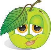 Cartoon apple Royalty Free Stock Photos