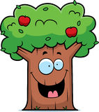 Cartoon Apple Tree Stock Photography