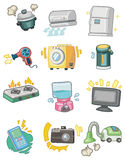 Cartoon Appliance icon. Vector drawing Royalty Free Stock Image