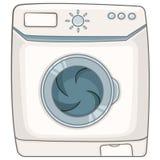 Cartoon Appliences Washing Machine Royalty Free Stock Photo