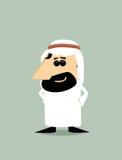 Cartoon Arabic man Royalty Free Stock Images