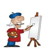 Cartoon artist Stock Images