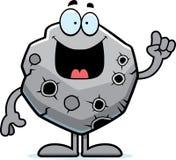 Cartoon Asteroid Idea Stock Image