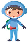 Cartoon astronaut Royalty Free Stock Image