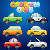 Cartoon Automobiles Stock Photos