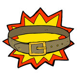 Cartoon awesome new belt Stock Images