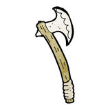 Cartoon axe Royalty Free Stock Photography