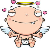 Cartoon Baby Angel Love Royalty Free Stock Photos