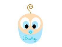 Cartoon baby boy stock images