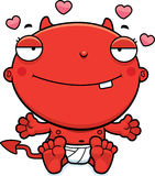 Cartoon Baby Devil Love Royalty Free Stock Photos