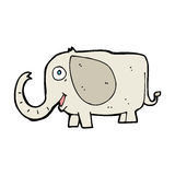 Cartoon baby elephant Royalty Free Stock Photo