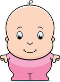 Cartoon Baby Girl Royalty Free Stock Images