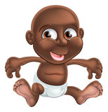Cartoon baby Stock Images