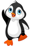 Cartoon baby penguin stock illustration