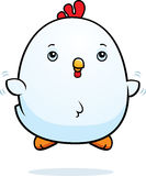 Cartoon Baby Rooster Fly Stock Images