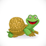 Cartoon baby turtle Stock Photography