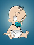 Cartoon baby Royalty Free Stock Photography