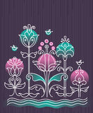 Cartoon background Royalty Free Stock Images
