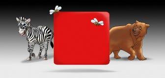 Cartoon background Royalty Free Stock Photography