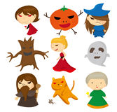 Cartoon bad person Royalty Free Stock Images