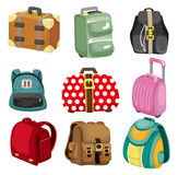 Cartoon bag icon Royalty Free Stock Photography