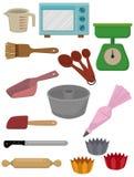 Cartoon Bake tool icon royalty free illustration