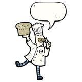 Cartoon baker Royalty Free Stock Image