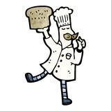 cartoon baker Royalty Free Stock Images