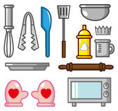 Cartoon baking tool icon. Vector drawing Royalty Free Stock Images