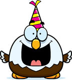 Cartoon Bald Eagle Birthday Party Stock Images