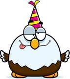 Cartoon Bald Eagle Drunk Party Royalty Free Stock Photo