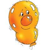 Cartoon Balloon Royalty Free Stock Photos