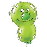 Cartoon Balloon Faces Stock Photography