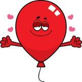 Cartoon Balloon Hug Stock Photo