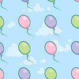 Cartoon Balloon Tile Stock Photos