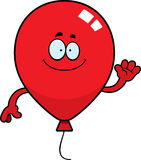 Cartoon Balloon Waving Royalty Free Stock Photos