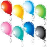 Cartoon balloons Stock Image