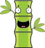 Cartoon Bamboo Happy Royalty Free Stock Photography