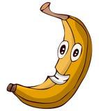Cartoon Banana Character Vector Illustration. Stock Photos